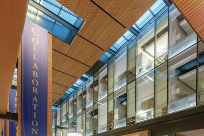 Paccar Hall at the University of Washington's Foster School of Business