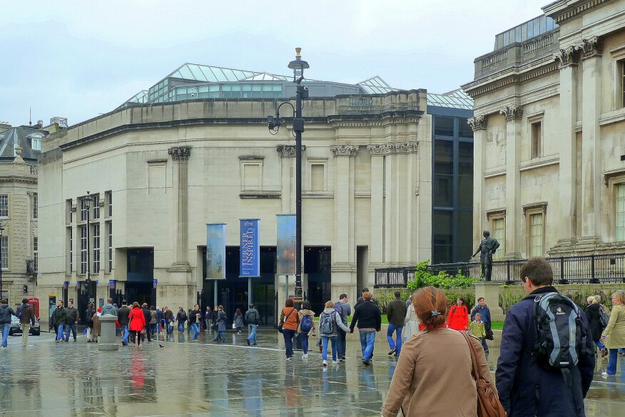 The Sainsbury Wing of London's National Gallery, designed by Venturi, Scott Brown and Associates, replaced the Ahrends, Burton and Koralek proposal infamously dubbed a 'carbuncle' by Prince Charles during a speech at the Royal Institute of British Architects.