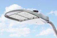 Sleek, high-efficiency roadway lighting