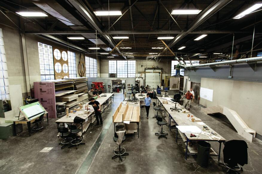 The Materials and Methods shop at the University of Buffalo, which Ants of the Prairie often uses for projects.