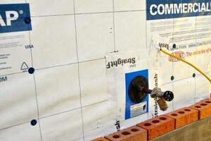 Waterproofing Brick Veneer
