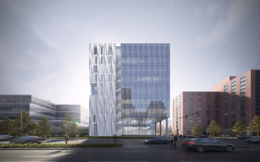 Gensler's Central Campus Health Clinic in Chicago for the Cook County Health and Hospitals System