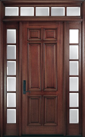 Pella Corporation Pre-Finished Wood Entry Doors