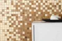 Hand-Cut Wood Mosaics