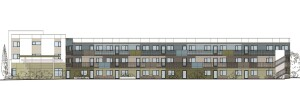 The 33-unit Solutions Escondido Apartments will feature 22 two-bedroom and 11 three-bedroom apartments in a three-story building in Escondido, Calif.