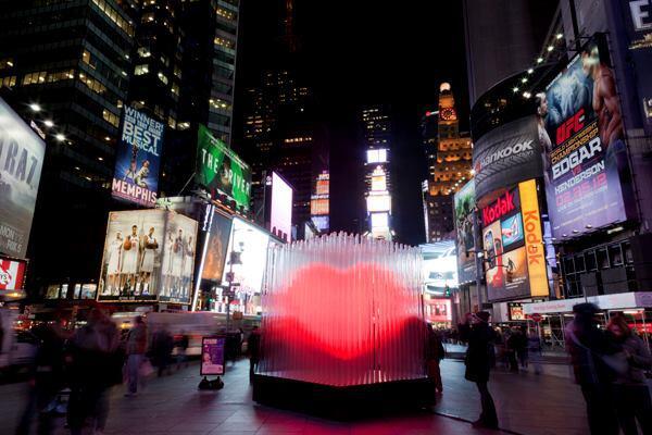 """""""BIG <3 NYC"""" by Bjarke Ingels Group (2012)."""
