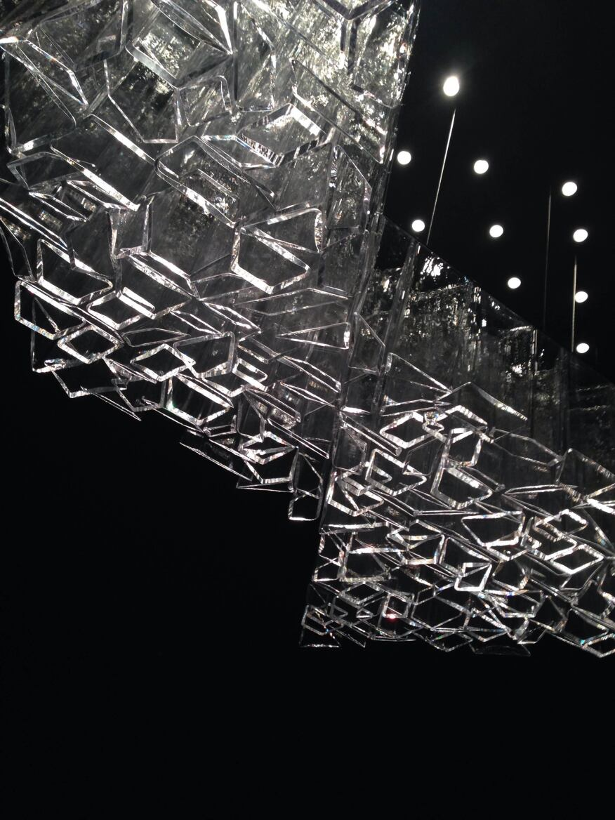 Ice, designed by Daniel Libeskind for Lasvit.