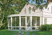 Restoring a Round Porch