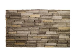 Pseudo Stone: Boral Stone Products has introduced Versetta Stone, a nonstructural, cement-based manufactured stone that requires no mortar, painting, or sealing. Made of 50 percent recycled content, it's about a third the weight of full-thickness stone and comes in two styles and three colors, including Ledgestone Sterling (shown).