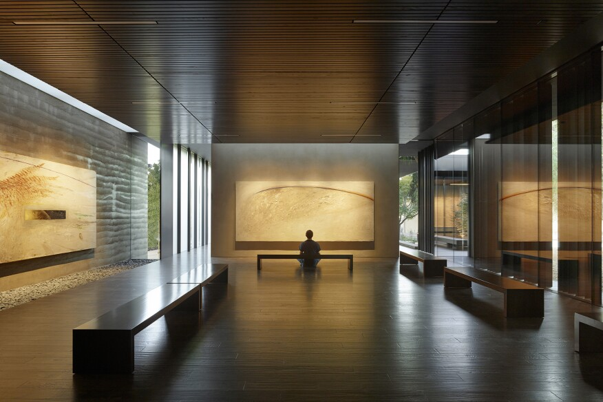 Windhover Contemplative Center, Stanford, Calif., by Aidlin Darling Design