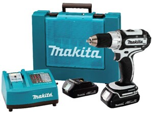 Makita offers new drill/drivers powered by lithium-ion batteries.