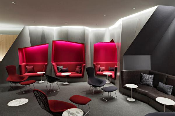 Virgin Atlantic Airway's Clubhouse in Newark, N.J.