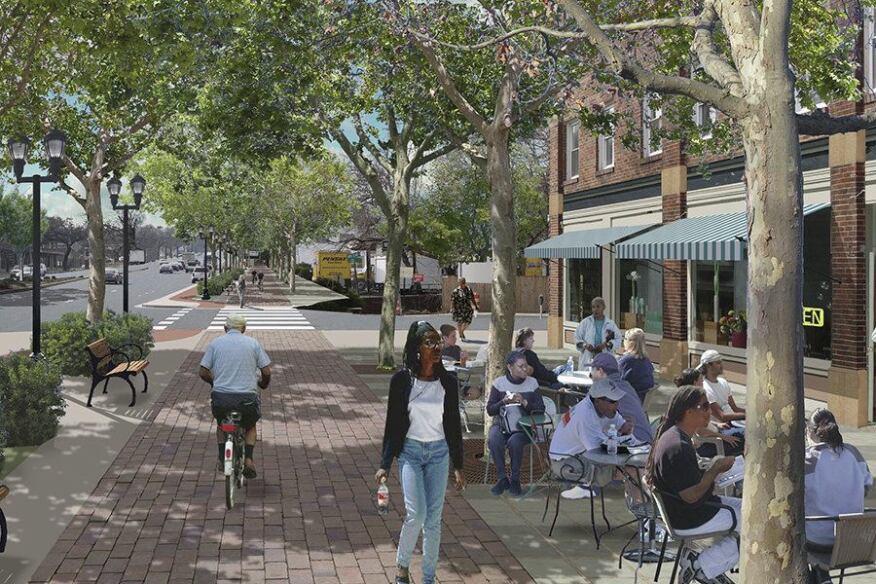 Mount Rainier Mixed Use Town Center Development Plan Mount Rainier Md Builder Magazine