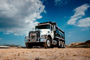 Mack TerraPro Cabover models can be configured for a variety of applications, including concrete pump, dump, mixer or refuse.