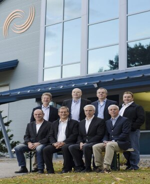 Advanced Concrete Technologies, Inc. celebrates its 25th year in business! Front row left to right: Andreas Schilli-Owner, Volker Würschum-Owner, Max Hoene-ACT President/Founder, Martin Wieland-Owner, Back row left to right: Hubert Würschum-Owner, Erik Johansen-ACT Vice President, Stefan Siegels-ACT COO, Reimund Richter-ACT Service Manager.