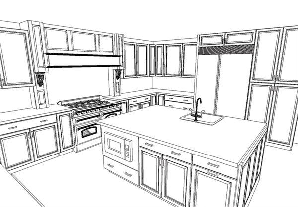 Rethinking the kitchen work triangle remodeling design for Kitchen triangle