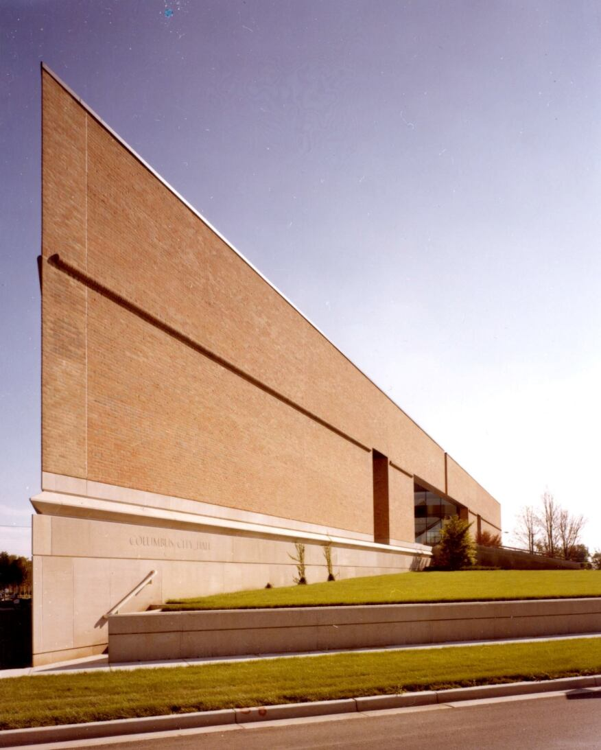 Columbus City Hall, Columbus, Ind. by Skidmore, Owings & Merrill