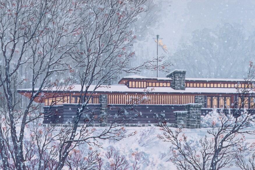 A recent rendering of Banff National Park Pavilion