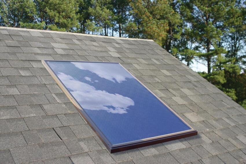 Velux America One-Collector Solar Water Heating Systems