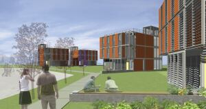 Prototype designs for SIMPLE student housing offer the ability to customize unit types, layouts, and cladding materials on a tight schedule.
