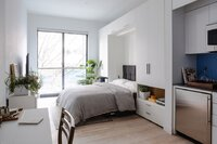 Photos of New York's First Micro-Apartment Tower Unveiled