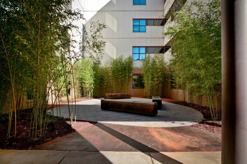Regional One Medical Courtyard