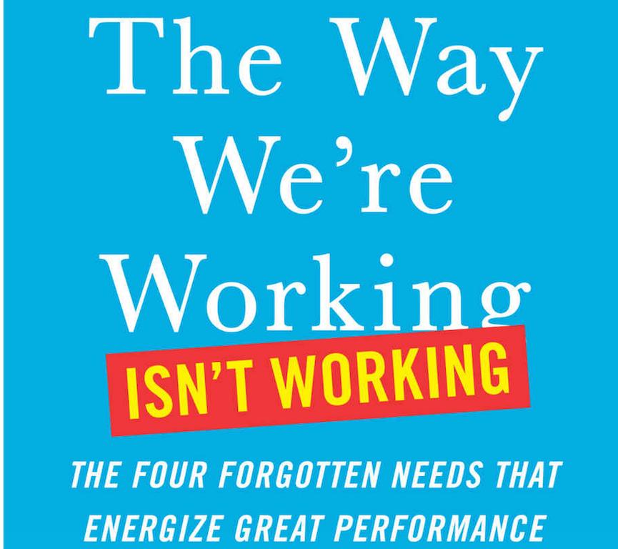 Tony Schwartz, book title....