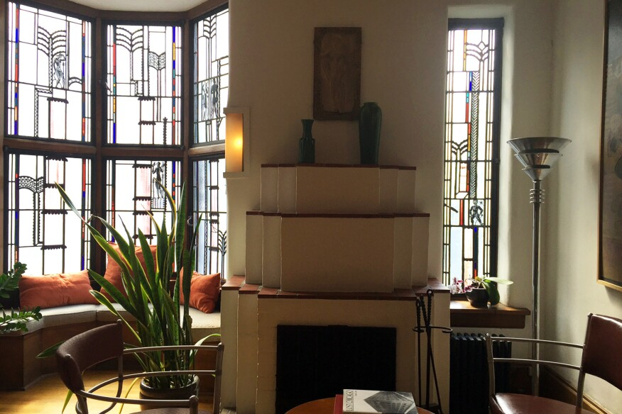 R.W. Glasner Studio, by Edgar Miller and Sol Kogen, Chicago.