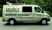 Legacy Roofing built itself into a brand by combining adroit marketing, including vehicle signage, with systems to ensure customer satisfaction.