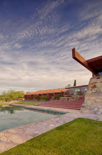 Front of Taliesin West