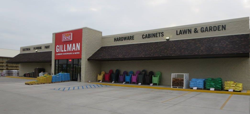 Gillman Home Center's store in New Castle, Ind.