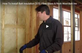 Video Series - Part 3: Fiber Glass and Mineral Wool Batt Inspection