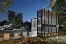 Corinthian Gardens Smokers' Shelter, Des Moines, Iowa