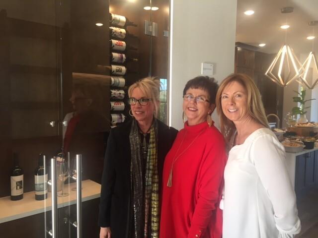 NEXTadventurers: (from left) interior designer Lita Dirks, architect Deryl Patterson, and Taylor Morrison's Carol Thompson, national director of strategic sourcing, East Region.