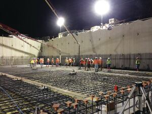 Urata crew works on the 200,000-square-foot central energy facility at Stanford University.