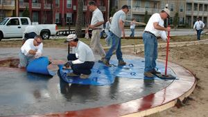 Increasing their knowledge of concrete helps decorative contractors improve their skill.