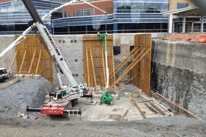 Using Self-Consolidating Concrete for Tall Walls