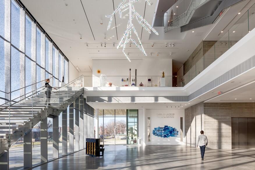North Pavilion lobby