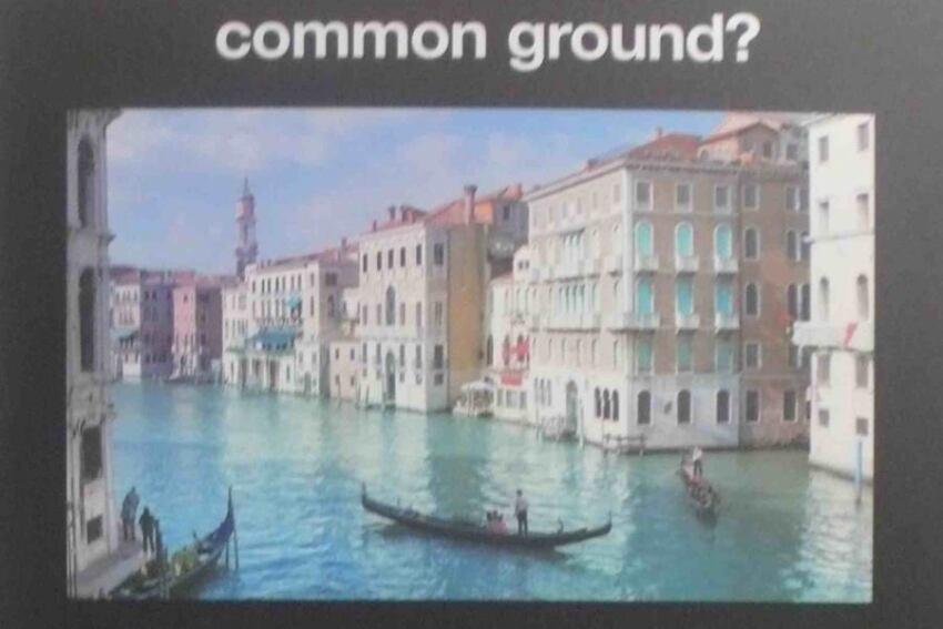 "Bernard Tschumi Advertises ""Common Ground"""