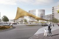BIG Unveils New Transportation Center for Sweden