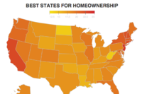 Five Best (and Worst) States for Homeownership Costs