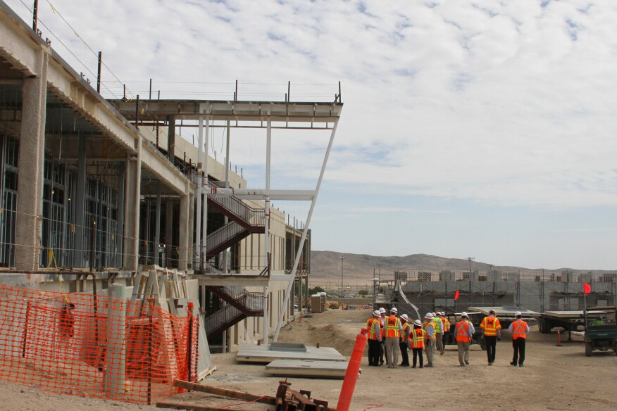 Fort Irwin hospital project in California