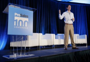 Paul DePodesta speaks at the 2016 ProSales 100 Conference