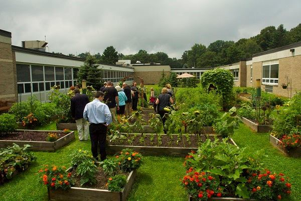Bedwell Elementary School in Bernardsville, N.J. was recognized in 2013 as a Green Ribbon School. Bedwell has built a successful environmental program, focusing on recycling, composting in the garden, and teaching sustainable practices in the curriculum.