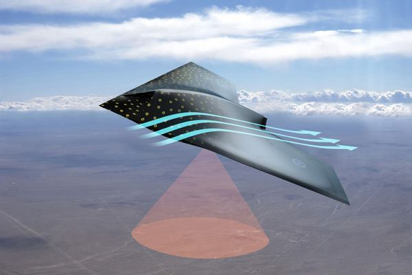 Scientists at BAE Systems have developed a sensing skin for aircraft that could have applications for the built environment.