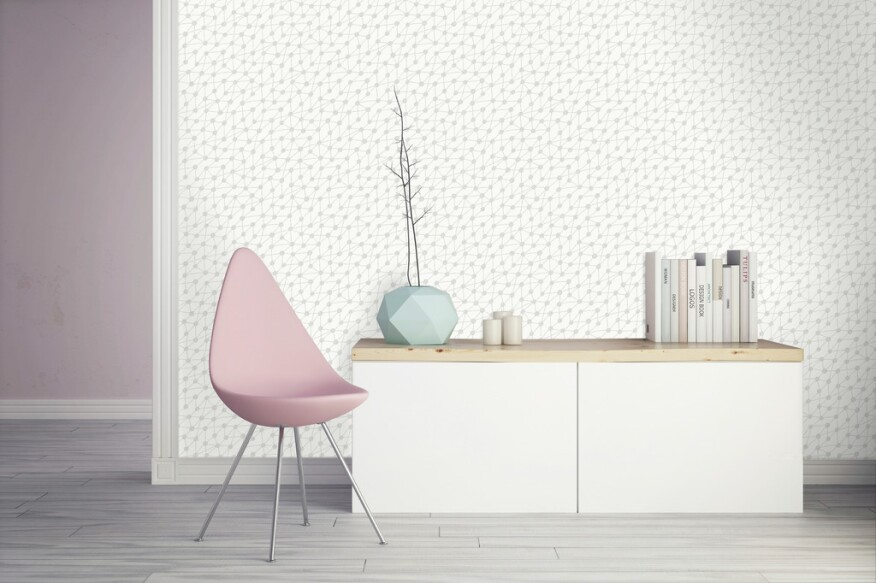 Chic wallpapers to enrich any room remodeling products - Bobby berk interior design ...