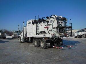 Vactor Guzzler vacuum truck