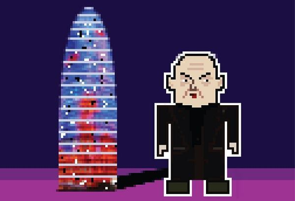 Jean Nouvel, with Torre Agbar.