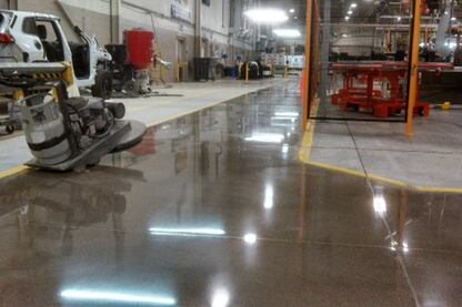 2013 Polished Concrete Awards - Industrial