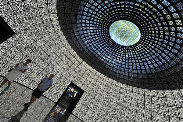Inside the Russian Pavilion at the 2012 Venice Architecture Biennale.